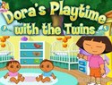 Dora's Playtime with the Twins - Dora the Explorer Game