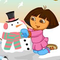 dora snow challenges0