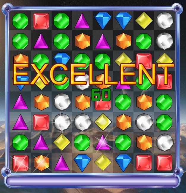 Bejeweled 2 classic puzzle game screen shots