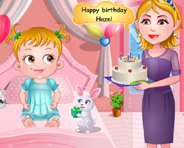 Baby Hazel Birthday Party Game - Play online at Y8.com