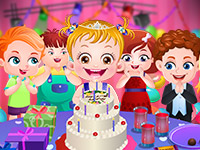 Play Baby Hazel: Birthday Party online on GamesGames