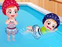 Baby Hazel Swimming Time – Swimming Lessons
