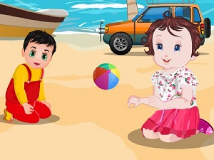 Baby Lisi Beach Party - Girls Games