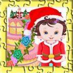 baby-lisi-christmas-cake-jigsaw-puzzle