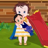 Baby Lisi Newborn Playing