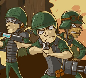 Cobra Squad 4 – Defense game