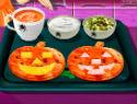 Sara's Cooking Class: Jack-o'-lantern Quesadillas – Halloween Game