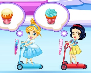 Disney Princess Cupcake Frenzy - Skill Game