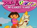 Dora and Unicorn in Candyland – Kids Game
