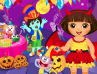Dora Prepare Halloween - Dora the Explorer