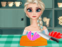 Elsa Master Chef – Make Pizza