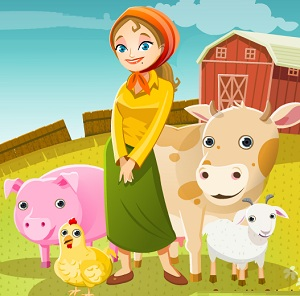 Fiona's Farm Center - Farm Game