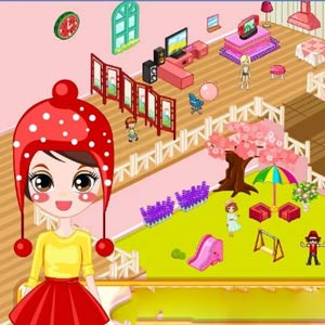 girly-doll-house-decoration