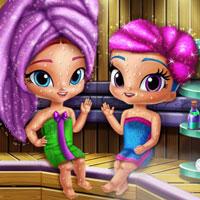 Glittery Genies Realife Sauna