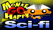 Monkey GO Happy Sci-fi – Puzzle game