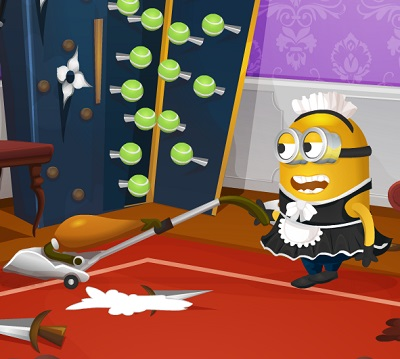 Minions House Makeover – Funny game