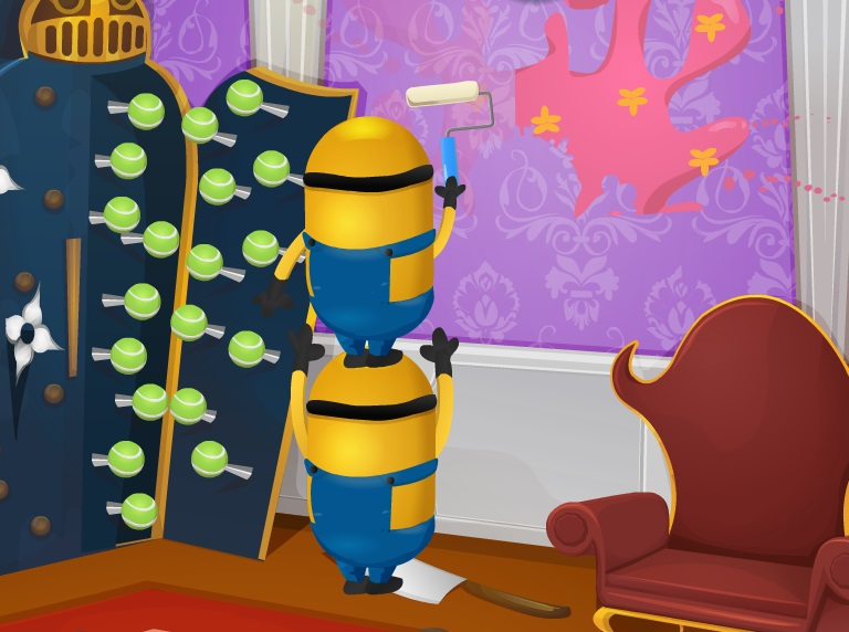 Minions House Makeover Funny game. Minions House Makeover