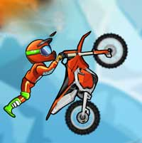Moto X3M 2 – Racing Game