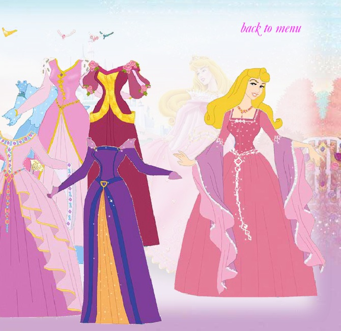 Disney Princess Game  Dress Up Game-5990