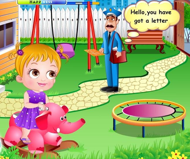 Play Baby Hazel Flower Girl Game