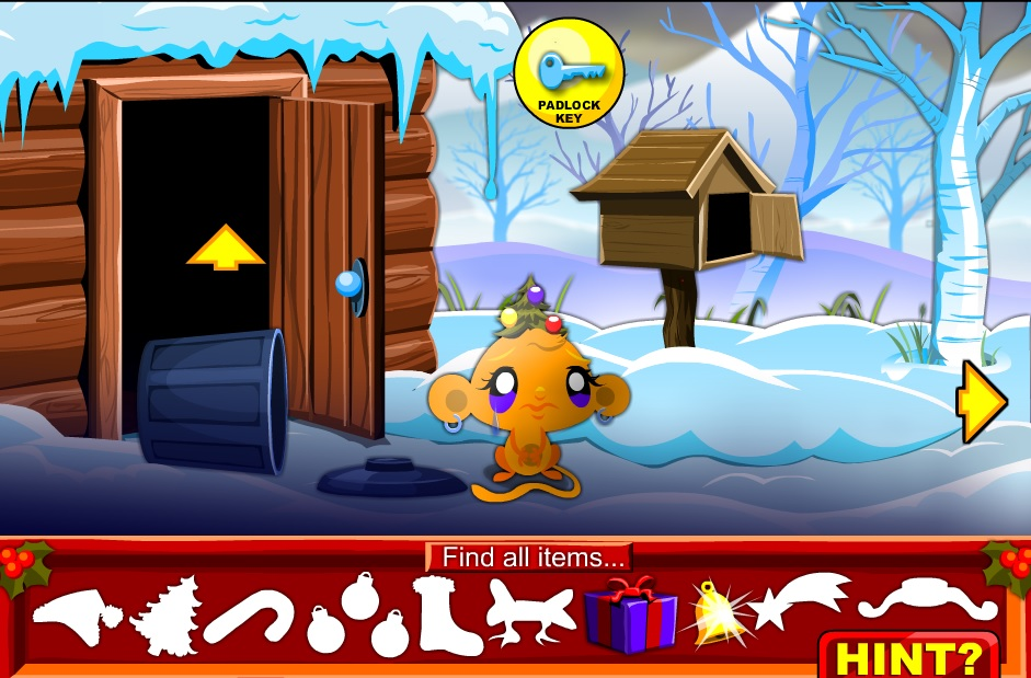 Monkey GO Happy Christmas Screen Shots